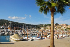 Hafen in Port Soller