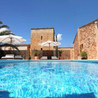 Ferienfinca mit Pool bei Campos