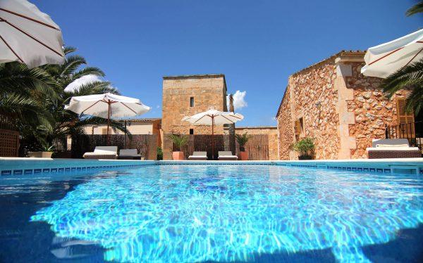 Ferienfinca für 6 Personen mit Pool bei Campos
